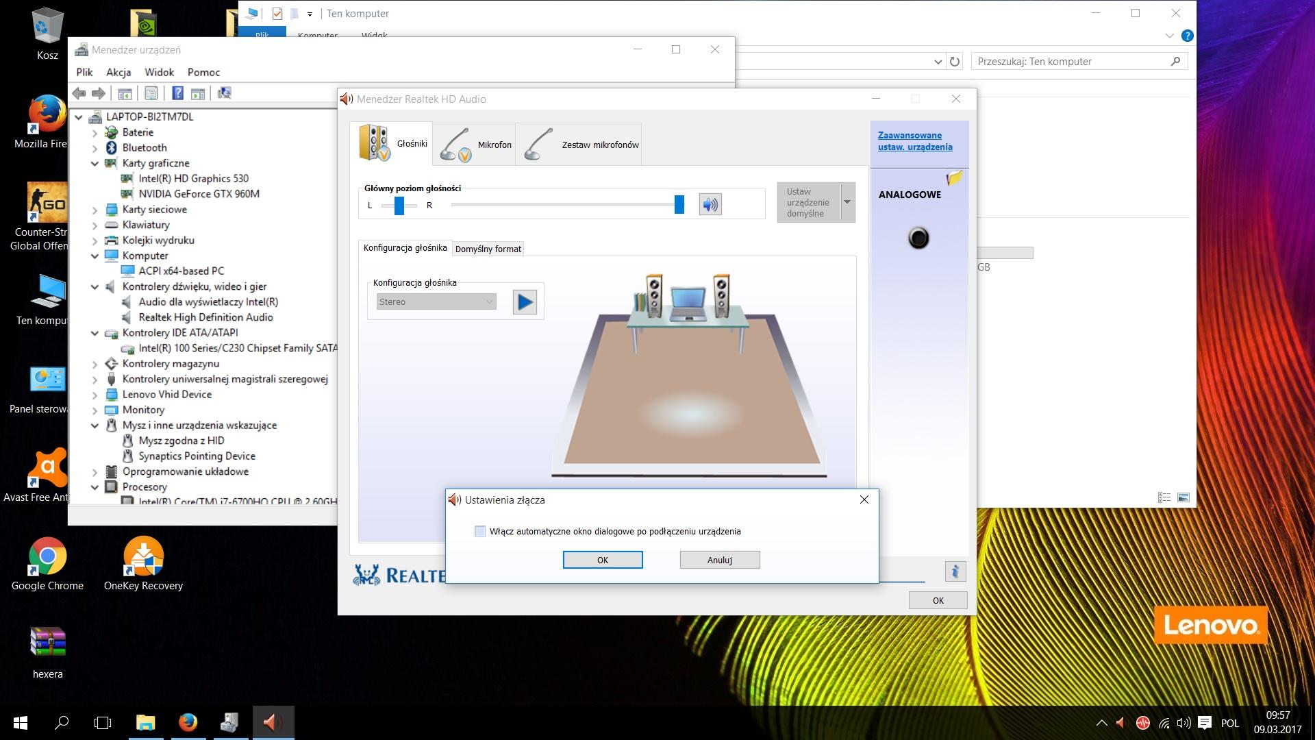 Windows10 steelseries słuchawki problem ForumPC.pl
